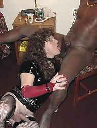 Slutty crossdressers fucking..